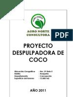 Proyecto Depulpadora de Coco