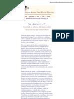 Ser e Conhecer - IV - Olavo de Carvalho