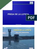 Presa de La Loteta