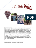 Wine in the Bible