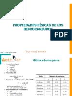 Propiedad físicas Hidrocarburos