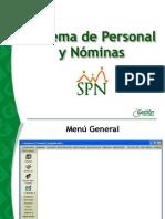 FuncionalidadesGeneralesSPN de Una Nomina de Pago