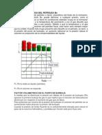 El factor volumétrico del petróleo o factor volumétrico del fluido de la formación