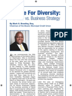 A Case for Diversity