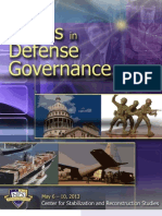 ISSUES IN DEFENCE GOVERNANCE REPORT 2013