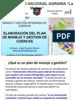 Curso Mg Cuencas Una 2011 Elaboracion Del Plan