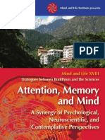 Dialogues Between Buddhism and Science Attention,Memory and Mind