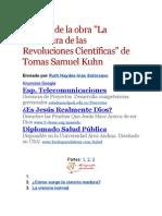 Análisis de la obra LAS REVOLUCIONE CIENITIFICA