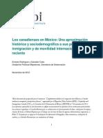 Canadienses en Mexico