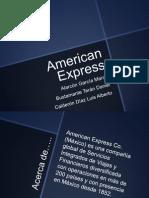 Presentancion American Express