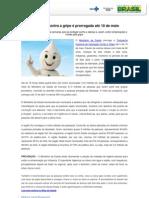 Release Prorrogacao Vacina Gripe