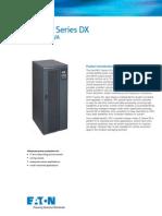 Eaton e Series Dx 20 40kva Ingles