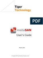 MetaSAN 5 0 1 Users Guide