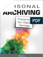 Personal Archiving
