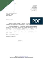 Drago Carta de Presentacion