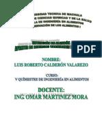 INFORME DE OBTENCIÓN DE ALMIDÓN APARTIR DE DIVERSAS VARIEDADES DE BANANO
