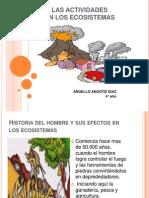 Impacto de Las Actividades Humanas en Los Ecosistemas