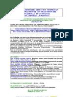 2ª JORNADA DE TECCION TEMPRANA Y MANEJO PRACTICO DE LOS TRASTORNOS DEL DESARROLLO
