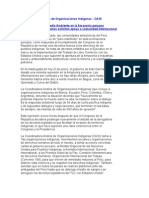 Coordinadora Andina de Organizaciones Indigenas