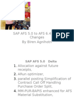 sap afs delta changes