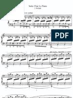 Debussy - Pour Le Piano Piano