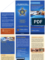 Ohio Organized Crime Investigations Unit Overview Brochure