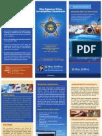 Ohio Organized Crime Investigations Unit Overview Brochure