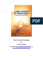 Islamic Concept of Knowledge (www.islamicmaterial.com)