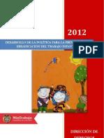 Politica para la Prevencion y Erradicacion del Trabajo Infantil.pdf