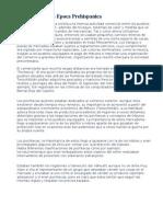 Economia en La Epoca Prehispanica