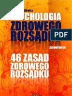 W. Wojtowicz = Psychologia Zdrowego Rozsadku (Full 320 Str)