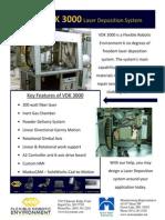 VDK3000 Laser Deposition System