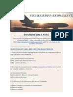Simulados Para a ANAC