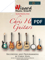 Chris Hein Guitars Manual English