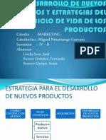 Desarrollo de Nuevos Productos y Estrategias Del Ciclo Final