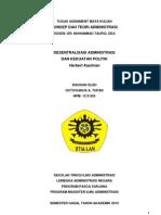Konsep & Teori Administrasi