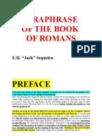 Romans Paraphrased