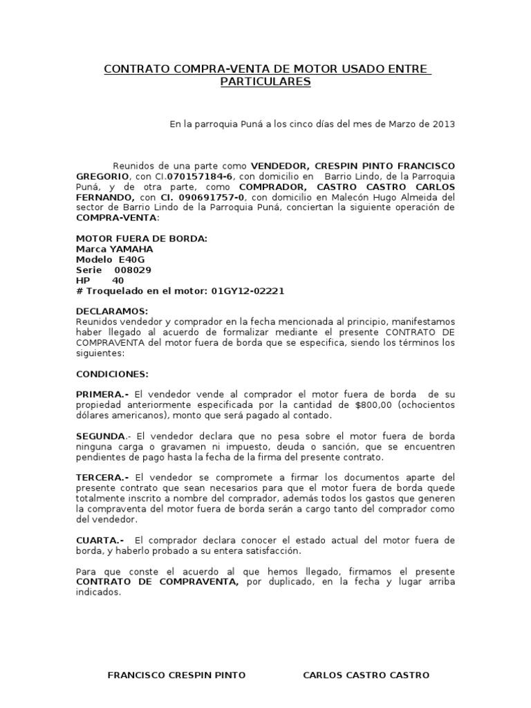 Contrato Compra II