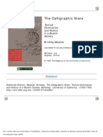 Brinkley Messick the Calligraphic State Textual Domination and History in a Muslim Society Comparative Studies on Muslim Societies , No 16 1996
