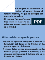 Historia Del ConceptodePersona