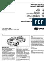 SAAB 9.3 Manual