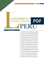 Tarea La Inversion Privada y El Ciclo Economico en El Peru
