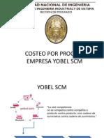Trabajo Final Costeo Por Proceso Empresa Yobel Scm Exposicion