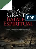 Livro eBook a Grande Batalha Espiritual