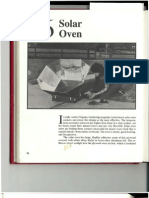 Solar Oven Plans in PDF