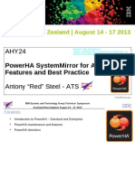PowerHA SystemMirror for AIX