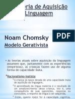 Teoria de Aquisição de Linguagem - Chomsky