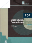Block Caving Geomechanics S