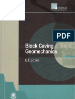 Block Caving Geomechanics S