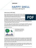Panduan Happy Shell